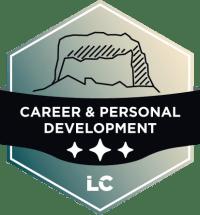 Leading-level Career & Personal Development Badge'