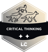 Engaged-level Critical Thinking Badge