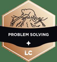 Involved-level Problem Solving Badge