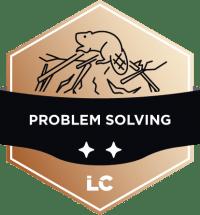 Engaged-level Problem Solving Badge
