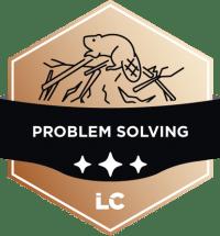 Leading-level Problem Solving Badge
