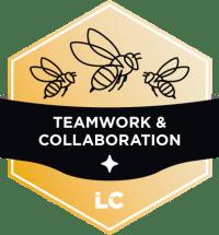Involved-level Teamwork & Collaboration Badge