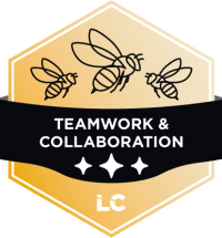 Leading-level Teamwork & Collaboration Badge