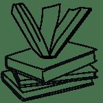 Sketch of books.