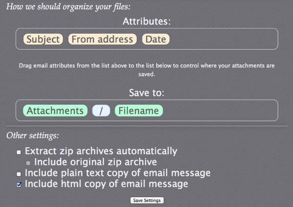 Send To Dropbox  Email files to your Dropbox