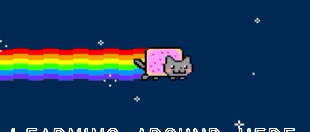 "Just for Kevin Croghan, here is the ""Learning Nyan Cat."""