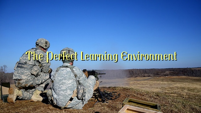 The Perfect Learning Environment
