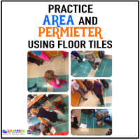 Area and Perimeter Using Floor Tiles