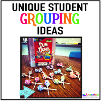 Student Grouping Ideas