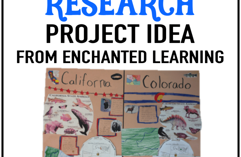 Surviving the Last Week of School – Free Project from Enchanted Learning