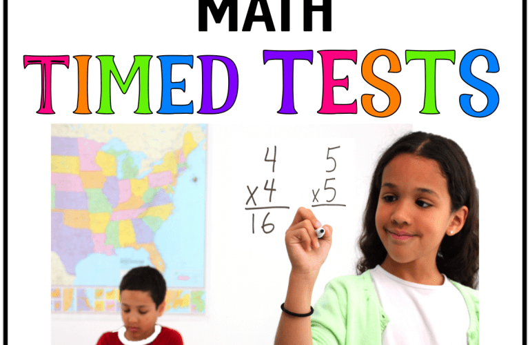 A New Way to do Math Timed Tests