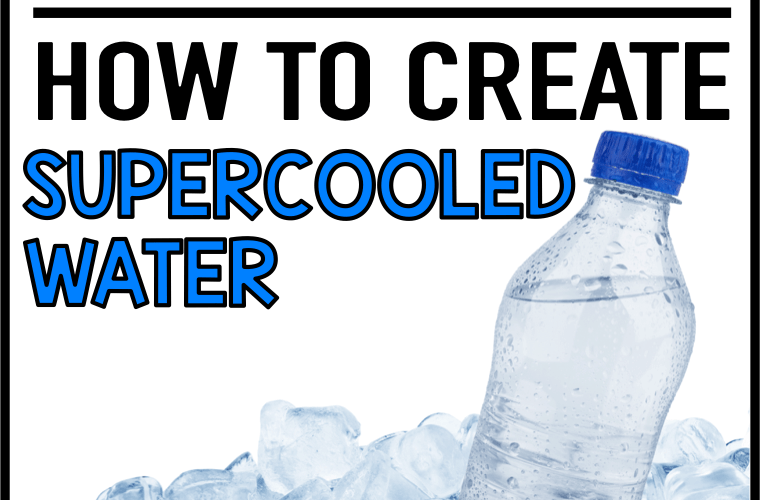Science Lab – How to Create Supercooled Water