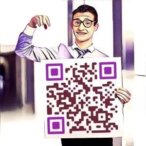 Ejemplo código QR tipo enlace cuestionario
