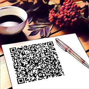 Ejemplo código QR tipo correo electrónico
