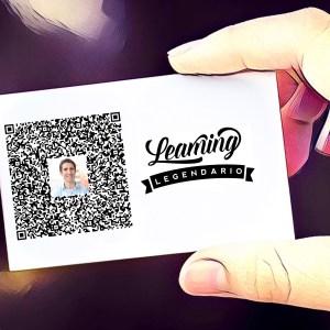 Ejemplo código QR tipo tarjeta de visita