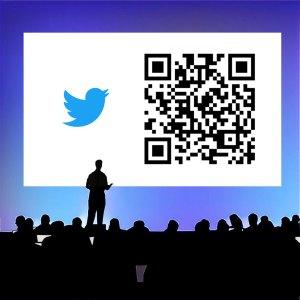 Ejemplo código QR para la difusión redes sociales