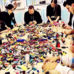 herramientas de aprendizaje - lego serious play