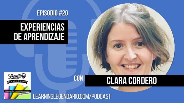 podcast entrevista a Clara Cordero de agorabierta sobre como crear experiencias de aprendizaje