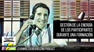 podcast gestion de la energia durante una formación