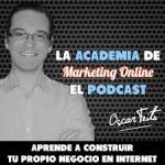 portada podcast academia marketing online