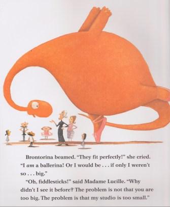 Brontorina inside page