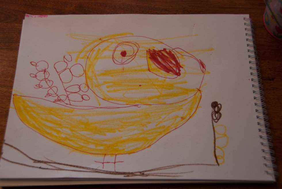 Drawing With (My) Children: Lesson 1 Birds - www.learningmama.com