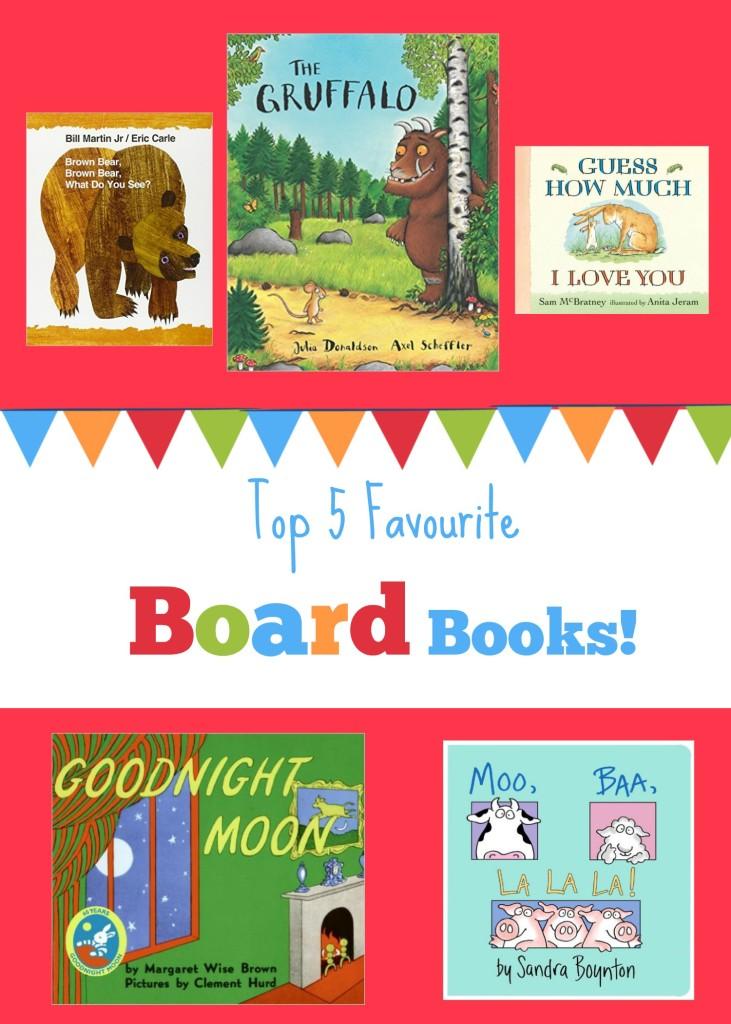 Our Top 5 Favourite Board Books!