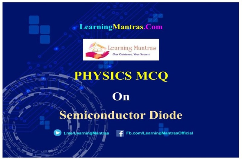 MCQ on Semiconductor Diode