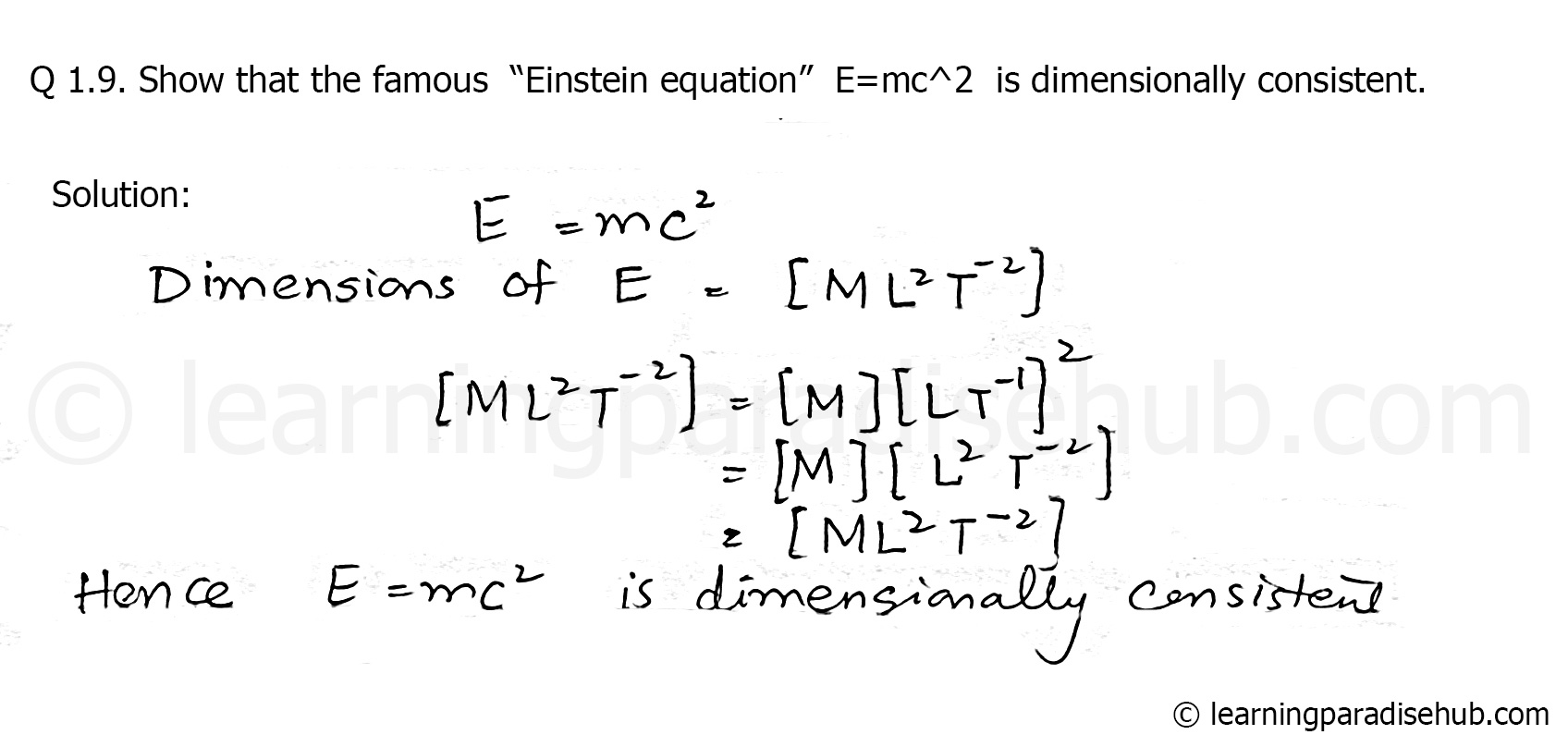 Full E Mc2 Equation
