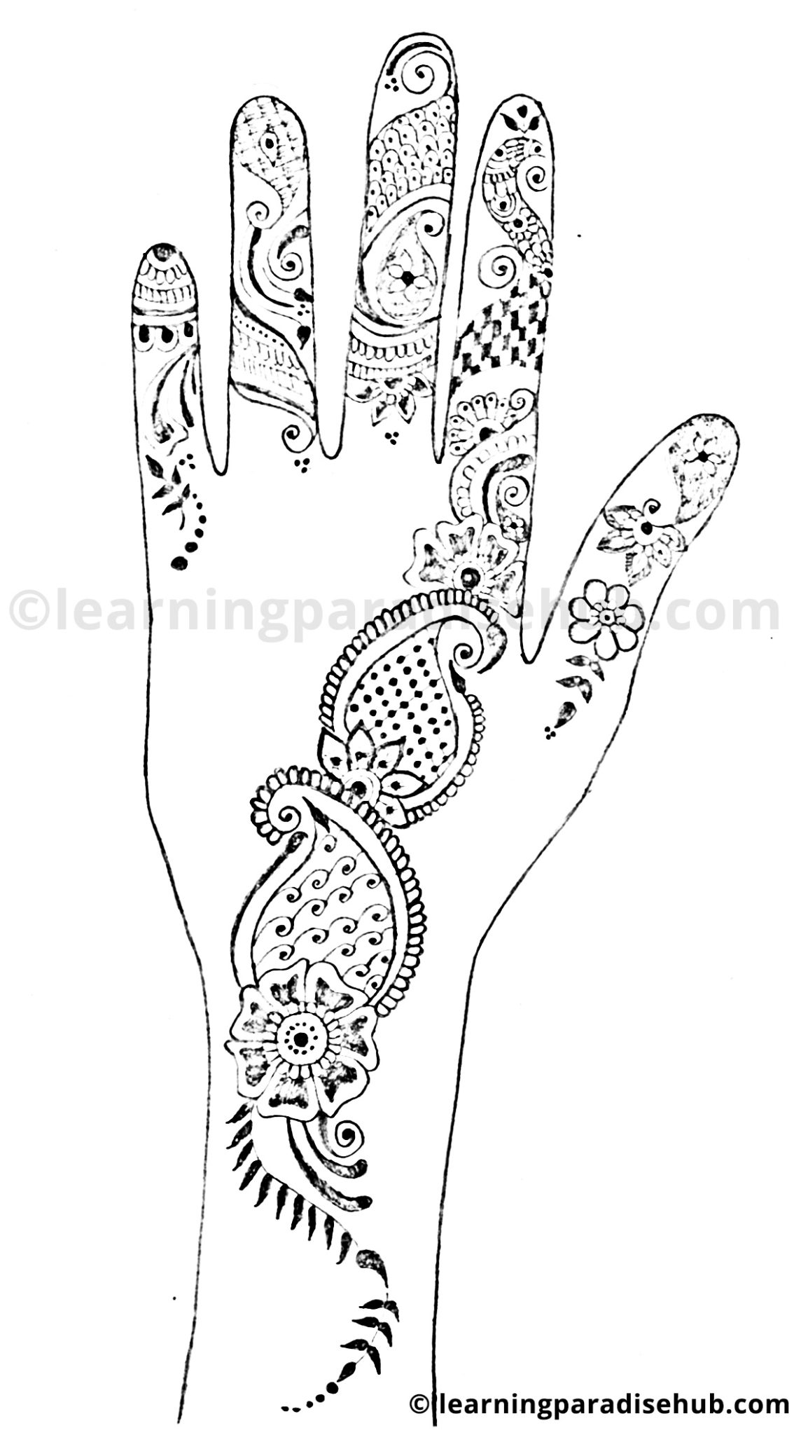 Simple Floral Mehndi Designs Mehndi Designs