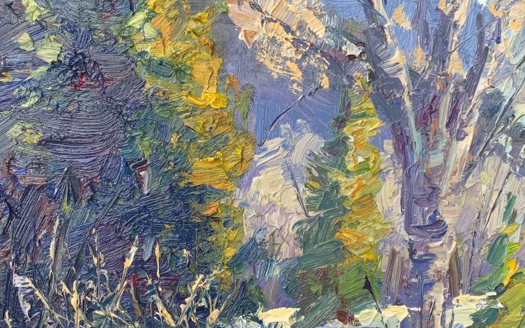 Before You Oil Paint TREES Know This..| Beginner PLEIN AIR