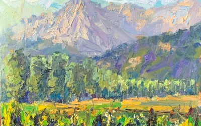 Why Your Plein Air Landscape Paintings Look Flat