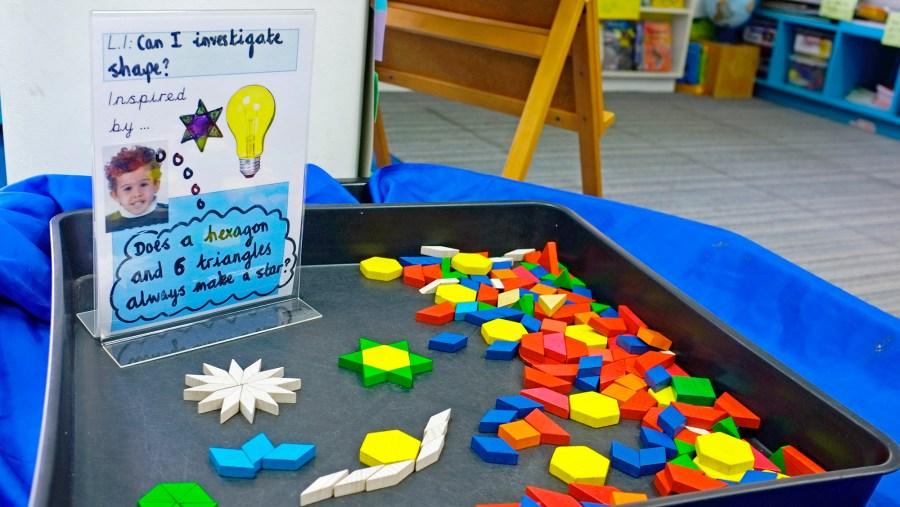Child-led maths investigation