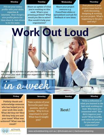 WOL Ideas for the week