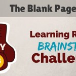 30 Day Brainstorm Challenge – Day 16: The Blank Page