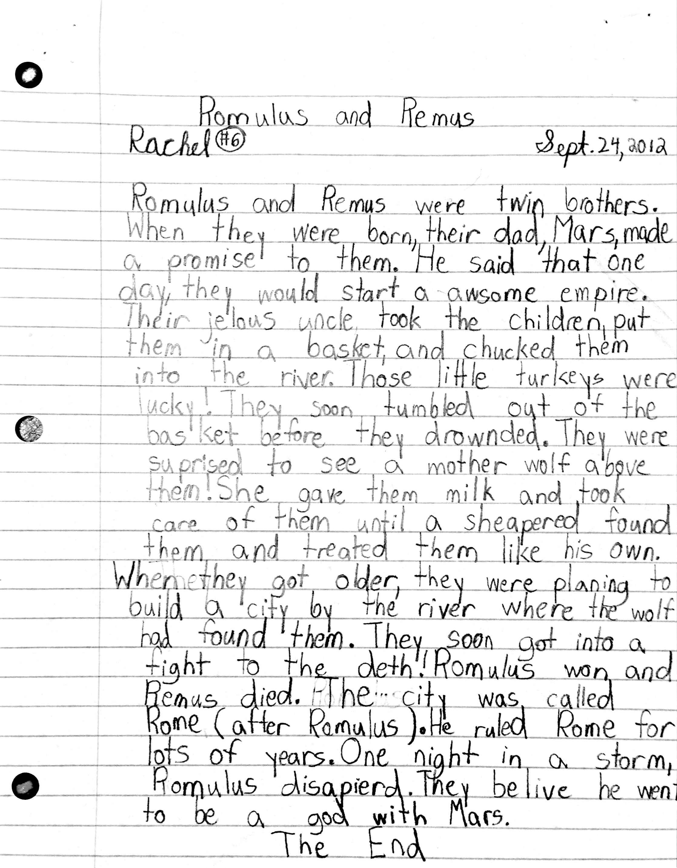 Third Grade Worksheet Greek Mythology
