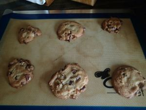 Family Favorite Pecan Chocolate Chip Cookie-Baked