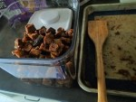 croutons finished
