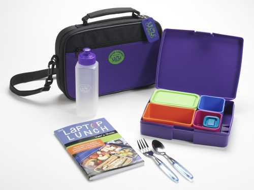 Here is a laptop lunchbox.