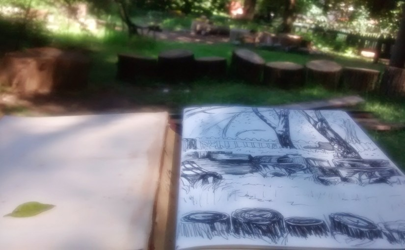 Sketching in Buenos Aires