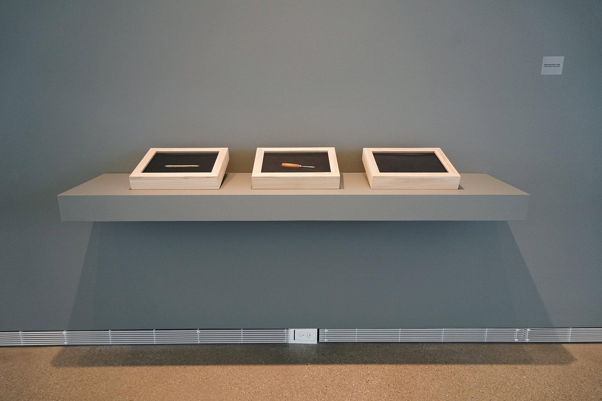 Found Object Art Installation, Jenie Gao Studio.