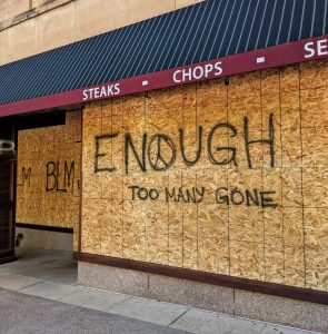 Read more about the article The politics of temporary murals in response to Black Lives Matter protests