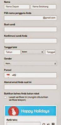 Cara Membuat Email Praktis dan Cepat Gmail 2