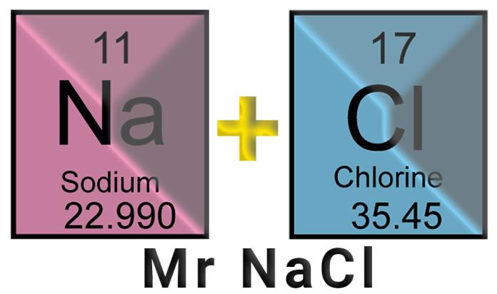 Jawaban Berapa Mr NaCl dan Cara Menghitung Mr NaCl