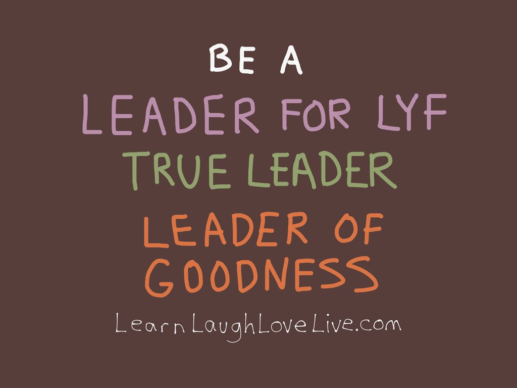 Be a Leader for LYF