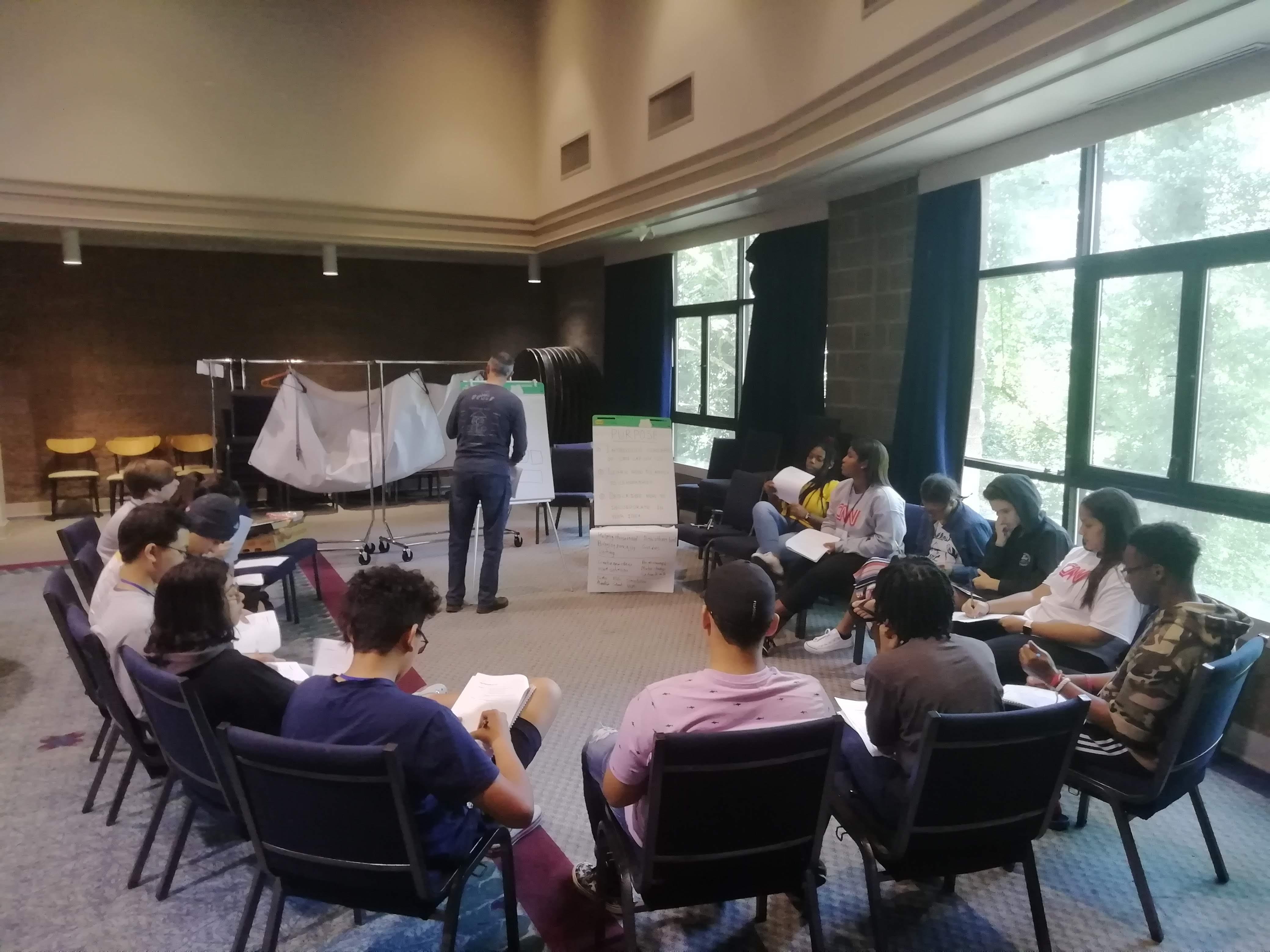 LRN LAF LUV LIV Learn Laugh Love Live for Leaders Workshop 1 Teaching