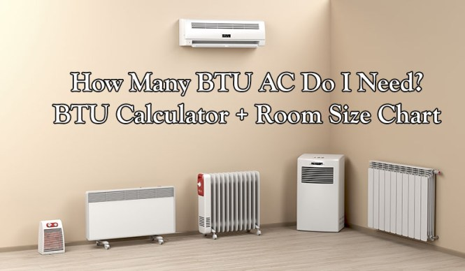 How Many Btu Air Conditioner Do I Need