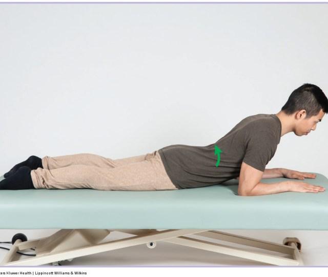 Extension Exercise For A Pathologic Disc Permission Joseph E Muscolino Manual Therapy
