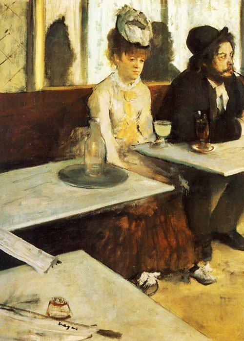 L'Absinthe by Edgar Degas