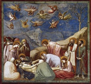 Lamentation (The Mourning of Christ) - Giotto
